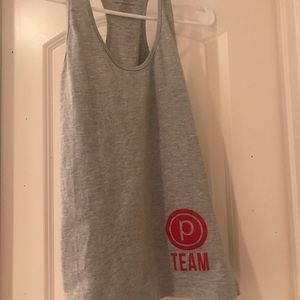 Pure Barre TEAM racerback tank, used for sale